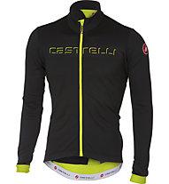 Castelli Fondo - maglia bici a manica lunga - uomo, Black/Yellow