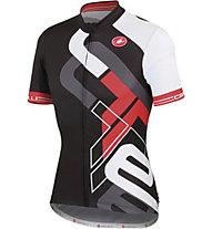 Castelli Frammenti Jersey FZ - Maglia Ciclismo, Black