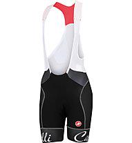 Castelli Free Aero W Bibshort - Radhose - Damen, Black/White