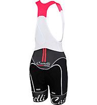 Castelli Free Aero - pantaloni bici - donna, Black/White
