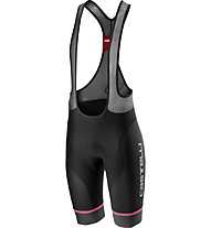 Castelli Free Aereo Race 4 - pantaloni bici con bretelle - uomo, Black/Grey