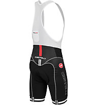 Castelli Free Aero Race Bibshort Kit Version - Pantaloncini Ciclismo, Black/Red
