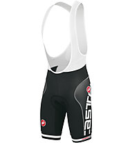 Castelli Free Aero Race Bibshort Printed Version, Black/White