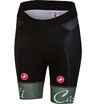 Castelli Free Aero - pantaloni corti bici - donna, Grey/Black