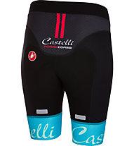Castelli Free Aero W Short - Radhose - Damen, Black/Light Blue