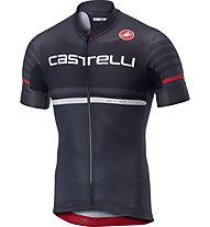 Castelli Free Ar 4.1 Jersey FZ - Radtrikot - Herren, Black/Grey