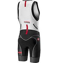Castelli Free Sanremo - body Triathlon - uomo, Black/White