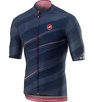 Castelli Gavia Mortirolo Jersey - Etappentrikot Giro d'Italia - Herren, Blue