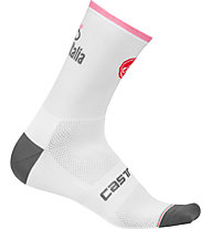 Castelli Radsocken Giro d'Italia 2018, White/Rosa