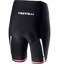 Castelli Giro d'Italia Velocissima Short - Radhose - Damen, Black/Rosa
