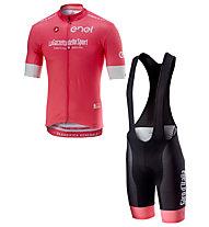 Castelli Set Trikot Giro d'italia 2018 Herren - Rosa Trikot + Radhose
