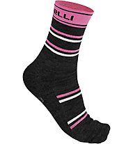 Castelli Calze bici Gregge 12 Sock, Pink