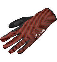Castelli Illumina Glove Damen-Fahrradhandschuh, Black/Red