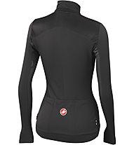Castelli Illumina Jersey FZ - maglia bici per donna, Black/Anthracite