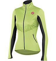 Castelli Illumina Jersey FZ - maglia bici per donna, Sulphur/Anthracite
