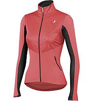 Castelli Illumina Jersey FZ - maglia bici per donna, Coral