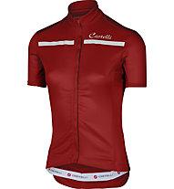 Castelli Imprevisto W Jersey - Radtrikot - Damen, Red/White