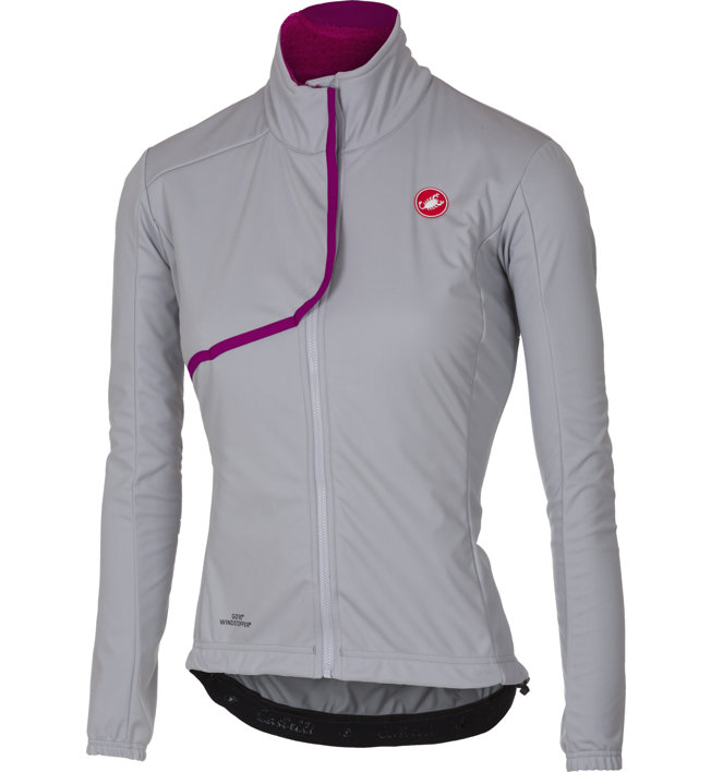 Castelli Indispensabile - giacca bici - donna, Grey