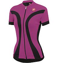 Castelli Ipnosi Jersey FZ - Maglia Ciclismo, Black/Fucsia