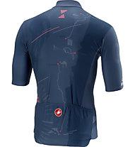 Castelli Israel prima tappa Giro d'Italia 2018 - maglia bici - uomo, Blue
