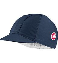 Castelli Italia 20 - cappellino con visiera, Blue
