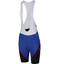 Castelli Magnifica - pantaloncini ciclismo - donna, Blue/Pink