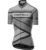 Castelli Millerighe Jersey FZ - Radtrikot - Damen, Black/White