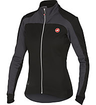 Castelli Mortirolo 2 W Jacket Giacca ciclismo donna, Black