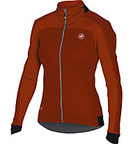 Castelli Mortirolo 2 W - giacca bici - donna, Red/Red