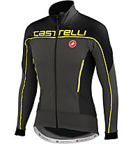 Castelli Giacca Mortirolo 3, Anthacite/Black/Yellow Fluo