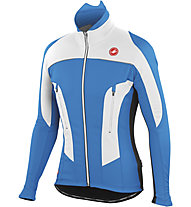 Castelli Mortirolo Due Jacke, Ocean/White/Black