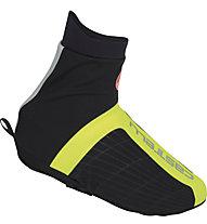 Castelli Sovrascarpa bici Narcisista Allroad Shoecover, Black/Yellow Fluo