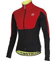 Castelli Passo Giau Jacket Giacca ciclismo, Red/Black