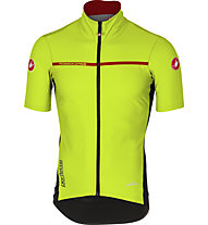 Castelli Perfecto Light 2 GORE WINDSTOPPER Radtrikot, Yellow Fluo