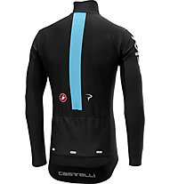 Castelli Team Sky 2019 Perfetto Long Sleeve - Radtrikot Langarm - Herren, Black
