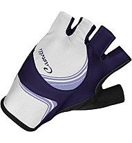 Castelli Perla Due W Glove, White/Violet/Lilac