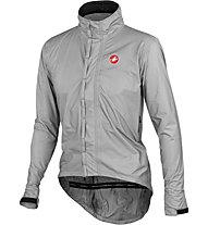 Castelli Pocket Liner Rad-Regenjacke, Grey