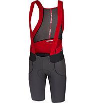 Castelli Premio Bibshort - pantaloni bici - uomo, Grey/Red