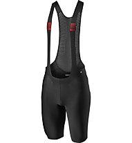Castelli Premio - pantaloni bici con bretelle - uomo, Black