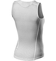 Castelli Pro Issue 2 - maglietta tecnica senza maniche - donna, White