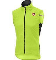 Castelli Pro Light Wind - gilet bici - uomo, Yellow Fluo