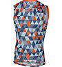 Castelli Pro Mesh Sleeveless - Funktionsshirt Bike - Herren, Blue/Orange
