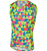 Castelli Pro Mesh Sleeveless - Funktionsshirt Bike - Herren, Green/Pink/Blue