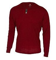 Castelli Procaccini Wool LS - langärmliges Vintage Radtrikot - Herren, Red