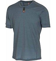 Castelli Procaccini Wool - maglia bici a manica corta - uomo, Blue