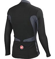 Castelli Prologo 4 Long Sleeve FZ langärmliges Radtrikot, Black/Turbulance/White