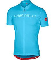 Castelli Prologo V Jersey - Radtrikot - Herren, Light Blue