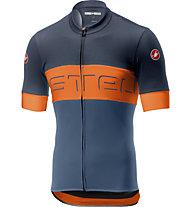 Castelli Prologo VI Jersey - Radtrikot - Herren, Blue/Orange