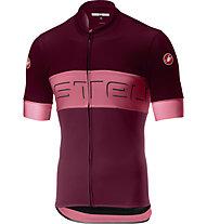 Castelli Prologo VI Jersey - Radtrikot - Herren, Red/Pink