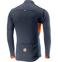 Castelli Prologo VI Long Sleeve - Radtrikot Langarm - Herren, Blue/Orange